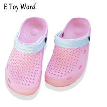 Summer kind Used Empty shoes Ventilation Waterproof Jelly Shoes Plastic Sandalias Mujer Plataforma Women Beach shoes