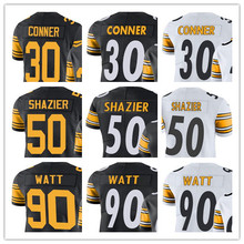 Youth's James Conner Ryan Shazier T.J. Watt James Harrison Alejandro Villanueva Pittsburgh Vapor Untouchable Steelers Jerseys(China)