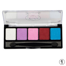 Superior Fashion 1PC Pearl Eyeshadow Beauty Sexy Eyes Makeup Eye Shadow Palette Cosmetic 5 Color Blocks Wholesale