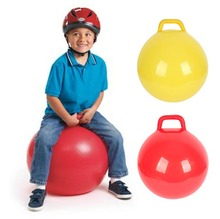 Inflatable Space Hopper Ball (Hop Ball, Kangaroo Bouncer, Hoppity Hop, Sit and Bounce, Jumping Ball) Children's Toys 4 Colors(China)