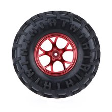 4Pcs 1/10 Monster Truck Tire Tyres for Traxxas HSP Tamiya HPI Kyosho RC Model Car(China)