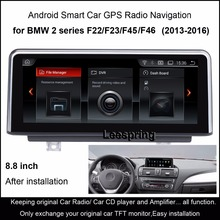 "8.8""Android 4.4 Car Radio Audio Stereo for BMW 2 series F22/F23/F45/F46 (Non Convertible Coupe 2013-2016) GPS Navigation WiFi(China)"