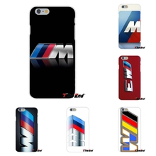 For iPhone 4 4S 5 5S 5C SE 6 6S 7 Plus Galaxy Grand Core Prime Alpha For silm BMW M Series M3 M5 logo Soft Silicone Phone Case