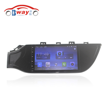 "Bway 9"" 2 din Car radio for 2017 KIA K2 Quadcore Android 6.0.1 car dvd player GPS navigation with 1 G RAM,16G iNand(China)"