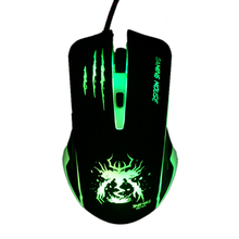 Snigir brand Mice Wired 6 Buttons USB Laptop Gaming Mouse sem fio gamer Optical computer PC Notebook for DOTA2 CS go Gamers X7(China)