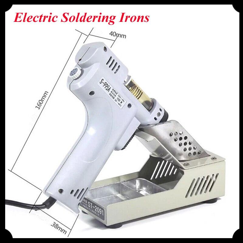 110v/220v Electric Absorb Gun 100W Electric Desoldering Hot Air Gun Desoldering Pump Soldering Irons S-995A<br><br>Aliexpress