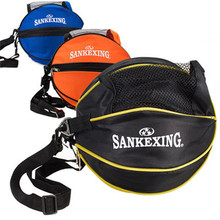 SANKEXING Brand Outdoor Sport Shoulder Soccer Ball Nylon Bags Kids Football Volleyball Basketball Bag Equipment Accessories Bag(China)