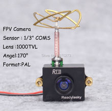 1000TVL CMOS VTX Mini Camera with 5.8G 25mW 48CH Video Transmitter Combo Set FPV for RC FX797T FX798T