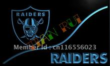 LD510- Oakland Raiders LED Neon Light Sign