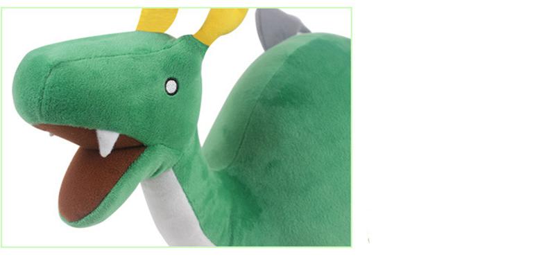 35cm Anime Miss Kobayashi's Dragon Maid Dinosaur Plush Toys Soft Kobayashi-san Chi no Maid Dragon Kanna Kamui Stuffed Dolls Gift (8)