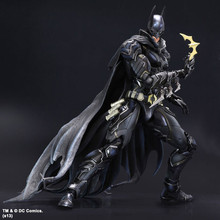 SQUARE ENIX PlayArts KAI DC COMICS NO.01 Batman PVC Action Figure Collectible Model Toy 27cm