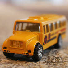 1:64 Alloy car model city traffic car school bus Back to power car bus Family Collection Decoration Children like the gift(China)