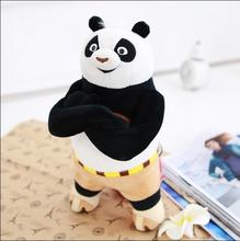12inch 30cm Kung Fu Panda Plush Stuffed Toys Baby Dolls Cartoon Animal Toys Free Shipping