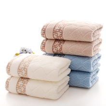 35*75cm 1pcs Embroidered Cotton Terry Hand Towels Set,Home Decorative Top Quality Face Bathroom Hand Towels Set,Toallas Mano