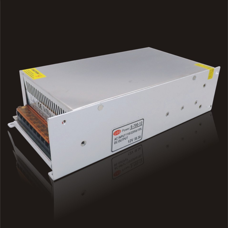 12V 58.3W700W  non-waterproof switch mode power supply, 12V700W Power adapter, 2 years warranty, reputed mfg, high quality<br>