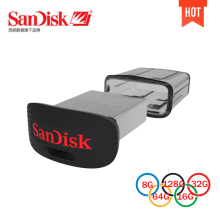 Original SanDisk CZ43 Ultra Fit USB Flash Drive 3.0 32GB 16GB Pen Drives 64GB Up to 130MB/S high Speed usb stick PenDrives 128G
