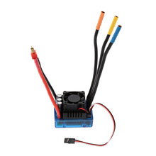 120A Brushless ESC Electric Speed Controller with 6.1V/3A SBEC for 1/8 RC Car Truck Parts(China)