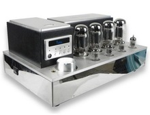 YAQIN MS-110B (MS110B) KT88x4 Vacuum Tube Integrated Amplifier push-pull tube AMP latest version tube amplifier