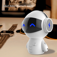 SUPOLOGY Smart Robot Mini Portable Speakers Outdoor Wireless Bluetooth Speaker Handsfree Music Sound Box for Phone Computer(China)