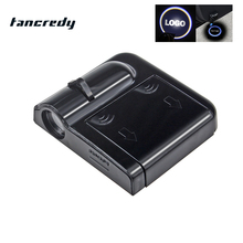Tancredy 1Pcs Wireless Car Logo Projector Light LED Laser Door Light NoDrill For Mercedes BWM AUDI VW Ford Door Welcome Light