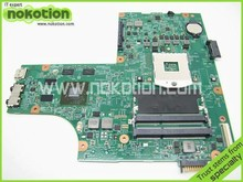 NOKOTION laptop motherboard for DELL INSPIRON N5010 01D52G 48.4HH25.0SA INTEL HM57 Mobility Radeon HD 5470 DDR3 Mainboard(China)