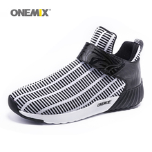 Newest Onemix warm height increasing shoes winter men & women sports shoes outdoor men's running shoes size EUR36-46