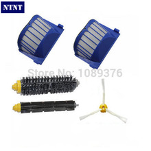 NTNT Free Post New AeroVac Filter & 3 armed Brush kit for iRobot Roomba 600 Series 620 630 650 660(China)