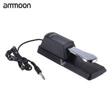 ammoon Upgrading Piano Keyboard Sustain Damper Pedal for Casio Yamaha Roland Electric Piano Electronic Organ