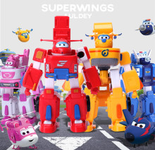 Hot Sales 2017 Deformation Armor Super wings Rescue Robot Action & Toy Figures Super Wing Transformation Robot Fire Engines Toys