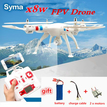 Quadcopter Syma X8W RC Drone with Camera 2.0mp hd wifi fpv applicable 50cm Big Quadcopter Helicopter vs x101 x8c x8g(China)