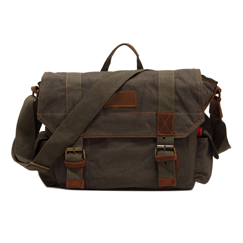 Army Style Mens Canvas Bags Messenger Shoulder Crossbody Bag Travel Bags High Quality<br><br>Aliexpress