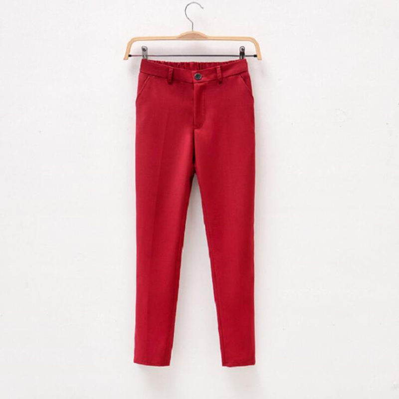 Wine red pant (1)