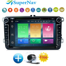 "8"" Android 6.0 Car Navigation System For VW Golf Passat Beetle Sharan With 2G RAM 32G ROM 4G Wifi BT Radio DVD GPS Navigation"