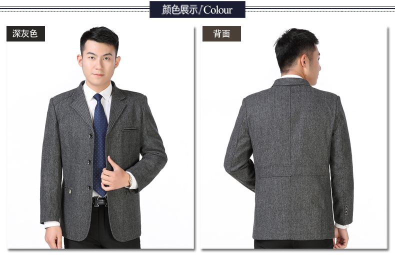 Man Casual Blazers Gray Elegance Jackets Suits Men Leisure Outfits Costume Male Spring Autumn Blazer Homme Jacket Suit Tailored Wear (3)