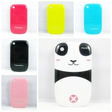 7 Colors Panda Hard Phone Cover Case for BlackBerry Curve 8520 Cover