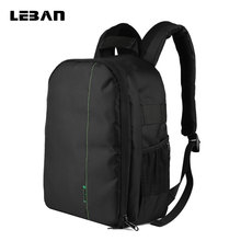 Multi-functional Waterproof Digital DSLR Camera Video Bag SLR Camera Bags for Canon Nikon DSLR