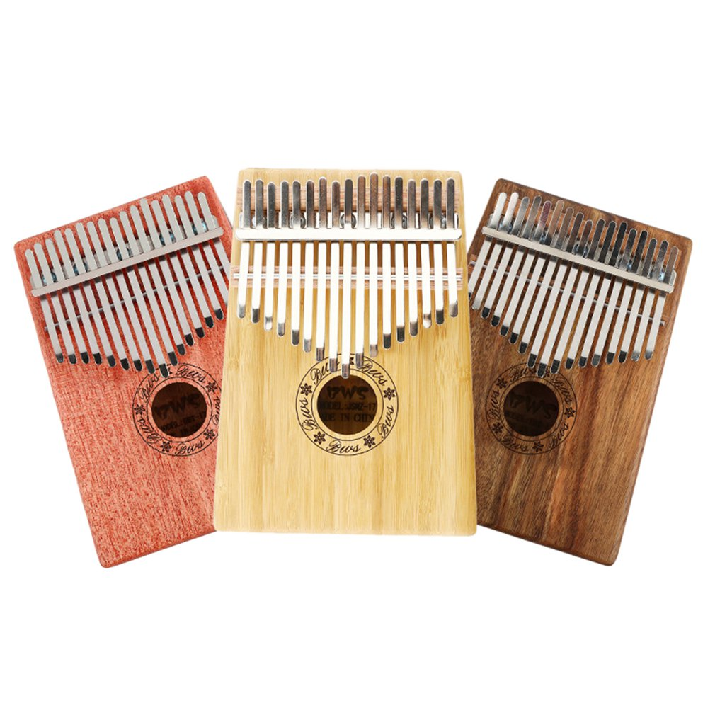 10/17 Keys Pocket Size Kalimba Thumb Piano Finger Piano Kalimba for Beginners Portable Instrument Hot Sale Dropshipping