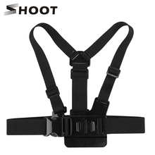 Buy SHOOT Elastic Harness Belt Action Camera Chest Strap Mount GoPro Hero 5 4 3 SJCAM SJ4000 sj5000x h8 h9 C30 h9r Xiaomi Yi 4K for $6.22 in AliExpress store