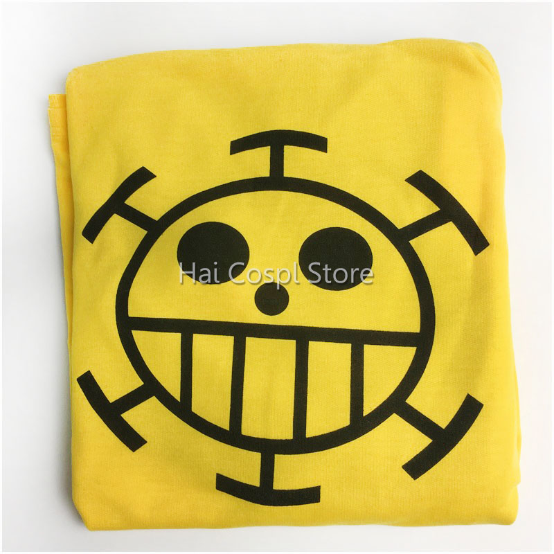 Anime Cosplay One Piece Costume Trafalgar Law Hoodies Masquerade Clothes Top for Man Women Long Sleeve Plus Size 10