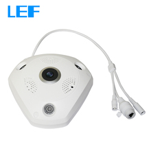 LEF 1.3MP & 3.0MP 360 Degree Panorama Fisheye Camera WIFI IP Home Security CCTV Camera Support Two Way Audio P2P Remote Viewing