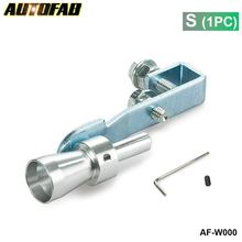 AUTOFAB -Universal Car Turbo Sound Whistle Muffler Exhaust Pipe Blow off Vale BOV Simulator Whistler Size S  AF-W000 (1 PC)