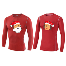 YEL 2016 Christmas Gifts for couple Compression Tights Fitness Men Gym Training Sports Running Yoga Long sleeve Shirts Women
