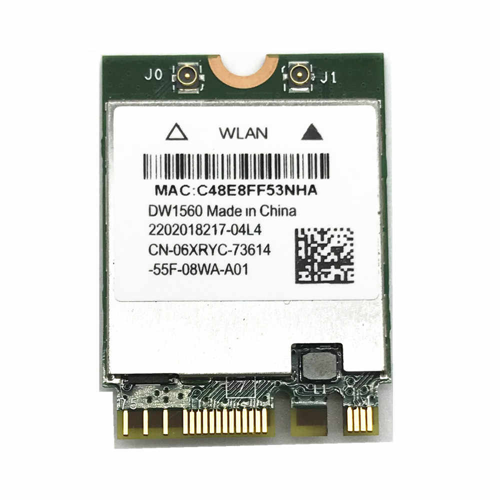 Wireless Adapter Card for Hackintosh dell DW1560 BCM94352Z NGFF M 2