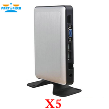 Partaker RDP8 Thin Client X5 for Windows Fanless Cloud Computer VMware USB Printer 720P Online Video