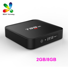 10 PCS T95M 2G 8G TV Box Android6.0 Amlogic S905X Bluetooth WIFI 3D/4K/H265  Time Display LIVE TV HDMI Cable IPTV Smart TV