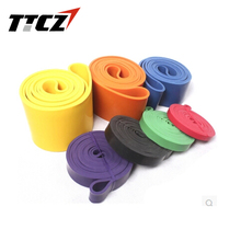 High Quality New 2.5mm Thickness High Quality Resistance Expander Power Strength Bands Fitness Equipment Wholesale TTCZ Sport(China)
