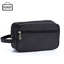 Men Functional Travel Cosmetic Bag Portable Zipper Makeup Case Make Up Bags Necessaries Organizer Storage Pouch Toiletry Bag(China)
