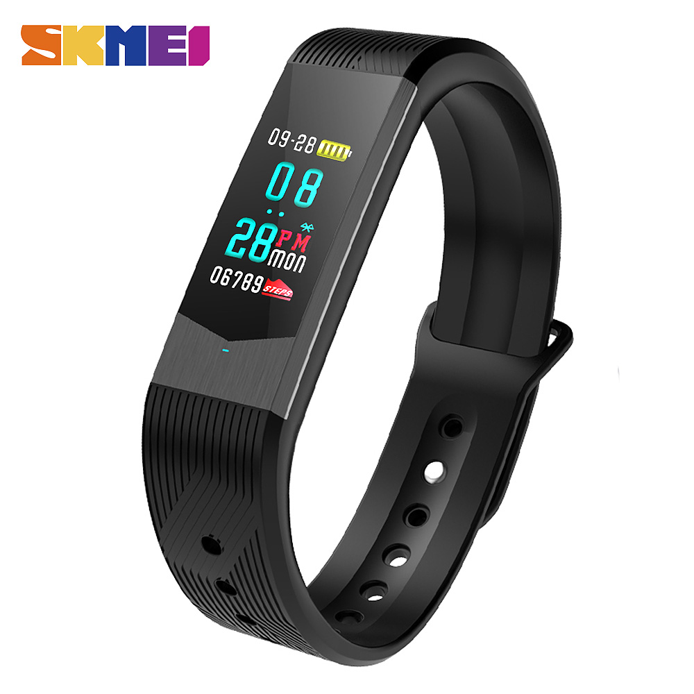 SKMEI B30 Smart Band New Style Men &amp; Women Digital Smart Watches LED Multiple Fuctions Waterproof Man Brecelet Relogio Masculino<br>