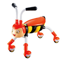 Lovely music lights walkers Ride On Cars TOYS 2015 new children's scooter riding swing bee cartoon power Walker baby toy cart