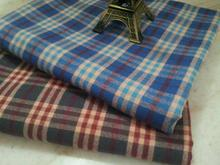 pf45 TWILL Sanded Cotton fabric cloth textile tartan classic winter coat fabric retail or wholesale blue 50cm x 145cm